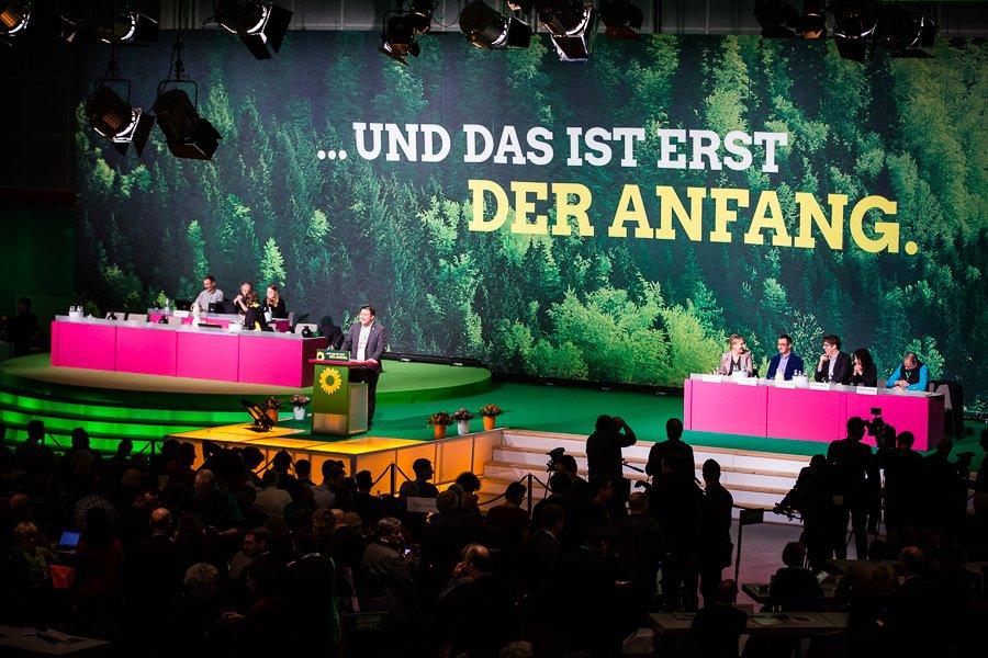 Bundesparteitag der GRÜNEN in Hannover